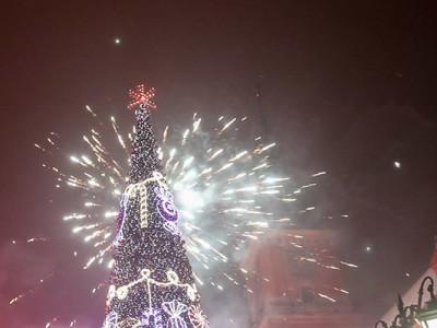 Новый год в Варшаве. HNY!
