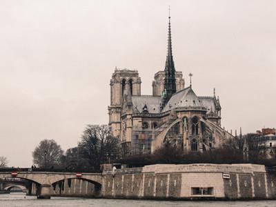 Париж в марте: Остров Ситэ