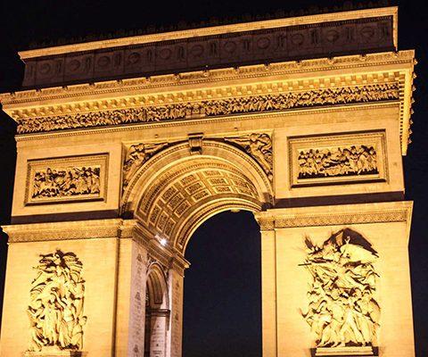 Париж в марте: Триумфальная Арка