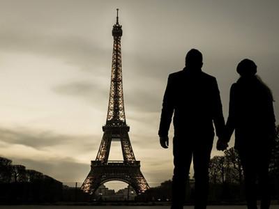Париж в марте: Эйфелева Башня