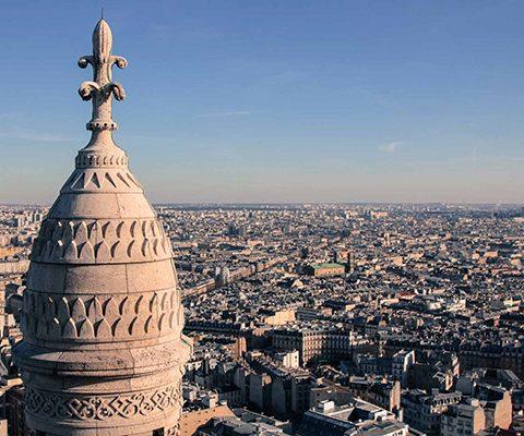 Париж в марте: Сакре-Кёр