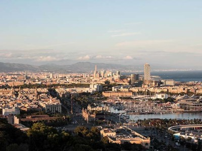 Барселона: Гора Монжуик
