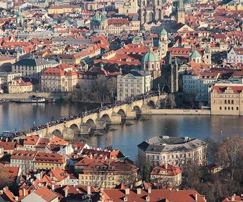 Новогодняя Прага: Петршин