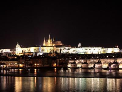 Новогодняя Прага: Пражский Град