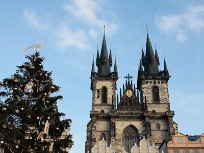 Новогодняя Прага: Старый город