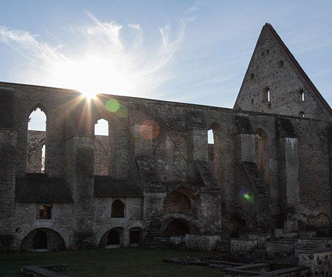 Таллин: Монастырь Святой Бригитты