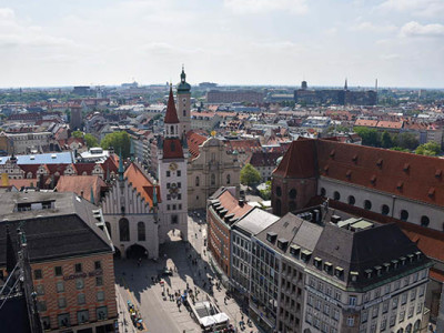 Мюнхен: Башня Новой Ратуши