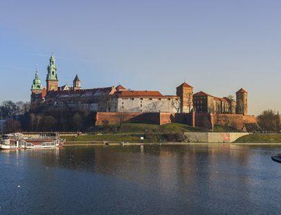 Новогодний Краков: Вавель