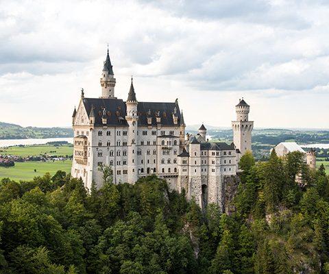 Германия: Замок Нойшванштайн