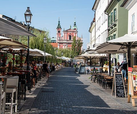 Любляна: Старый Город