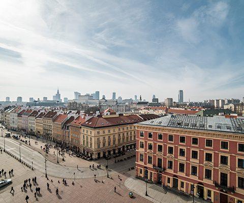 Варшава в марте